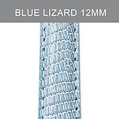 12mm Air Blue Lizard Strap