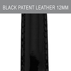 12mm Black Patent Leather Strap