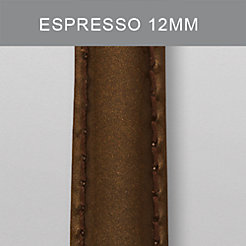 12mm Espresso Patent Leather Strap