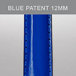 12mm Blue Patent Strap