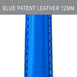 12mm Pacific Blue Patent Leather Strap