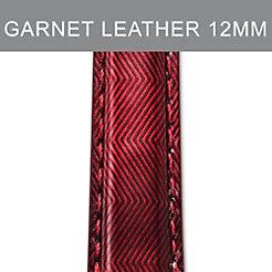 12mm Garnet Red Strap