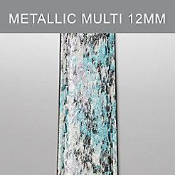 12mm Metallic Multi Leather Strap