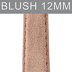 12mm Blush Nubuck Strap