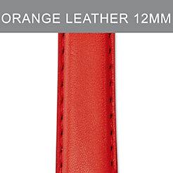12mm Vintage Orange Strap