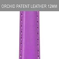 12mm Mauve Orchid Patent Strap