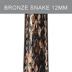 12mm Bronze Brown Strap