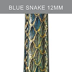 12mm Peacock Blue Strap