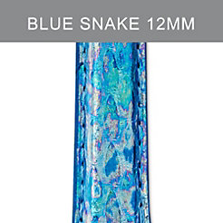 12mm Mirage Blue Fashion Snake Strap