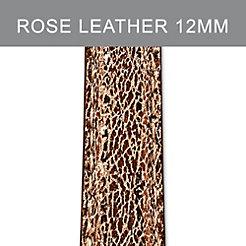 12mm Pale Rose Metallic Strap