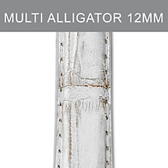 12mm Metallic Multi Fashion Alligator Strap