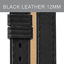12mm Black Double Wrap Strap