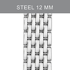 12mm 7-Link Stainless Steel Bracelet