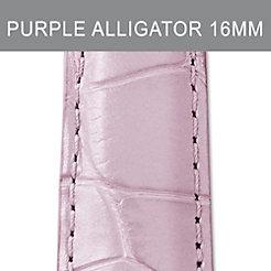 16mm Pastel Purple Alligator Strap