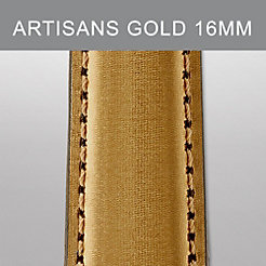 16mm Artisans Gold Leather