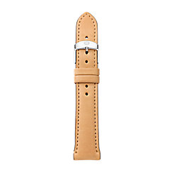 16 mm Tan Leather Strap