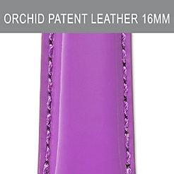 16mm Mauve Orchid Patent Strap