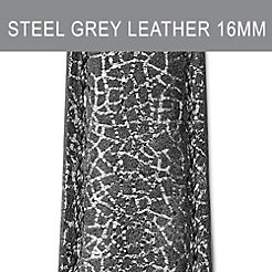16mm Steel Grey Strap