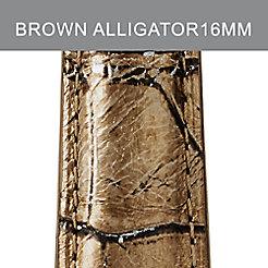 16mm Hollywood Alligator Strap