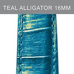 16mm Teal Strap