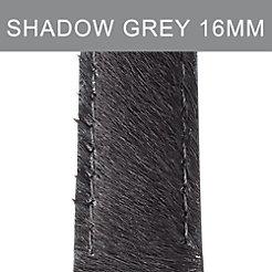 16mm Shadow Grey Pony Hair Strap