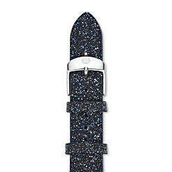 16mm Midnight Navy Crystal Strap