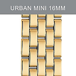 16mm Urban Mini 5-Link Gold-Plated Bracelet