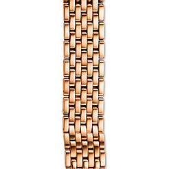 16mm Deco 16 7-Link Rose Gold Bracelet
