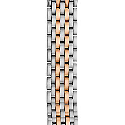 16mm Deco 16 7-Link Rose Gold Two-Tone Bracelet