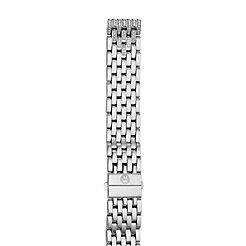 16mm Deco 16 7-Link Taper Steel Bracelet with Diamonds