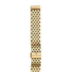 16mm Deco II 7-Link Mid-Size Gold Bracelet