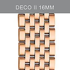 Deco II Mid Rose Gold 7-link Bracelet