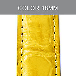 18mm Daffodil Alligator Strap