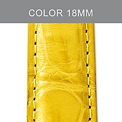 18mm Daffodil Alligator Strap