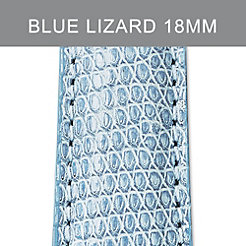 18mm Air Blue Lizard Strap