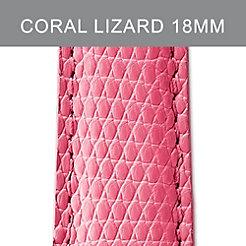 18mm Coral Lizard Strap