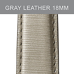 18mm Cement Leather Strap
