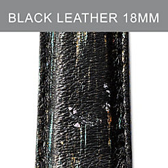 18mm Black Multi Strap