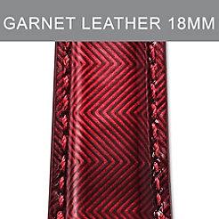 18mm Garnet Red Strap