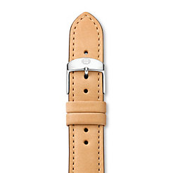 18 mm Tan Leather Strap