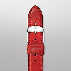 18mm Red Calf Skin Strap
