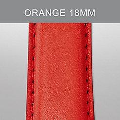 18mm Vintage Orange Strap
