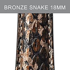 18mm Bronze Brown Strap