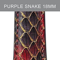 18mm Purple Peacock Strap