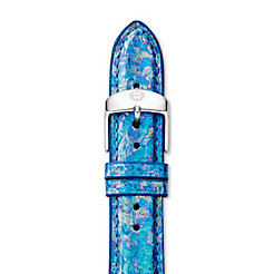 18mm Mirage Blue Fashion Snake Strap
