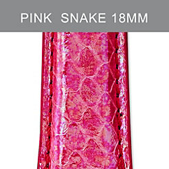 18mm Pink Flamingo Fashion Snake