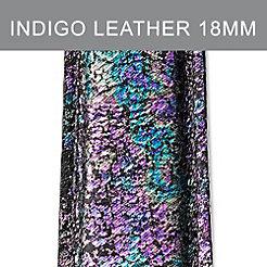 18mm Overcast Indigo Strap