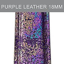 18mm Purple Impression Strap