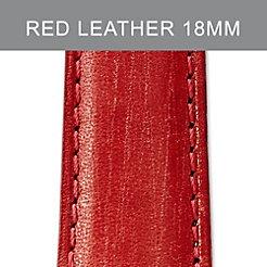 18mm Claret Red Strap