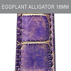 18mm Eggplant Strap